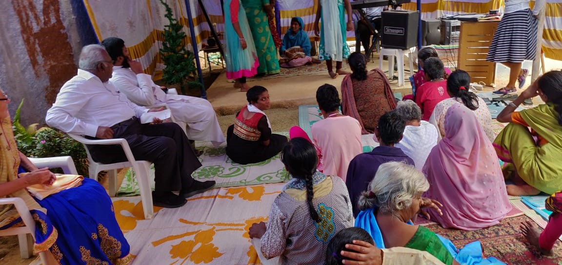 RAPT ATTENTION -NATIVITY PLAY BY INMATES